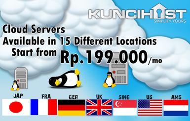 Cloud Server KunciHost
