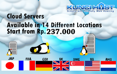 Cloud Server KunciHost