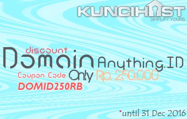 Promo Domain Indonesia